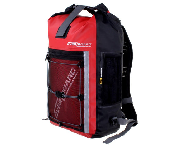 OverBoard Pro-Sports Waterproof 30L Backpack | Red - KaryKase