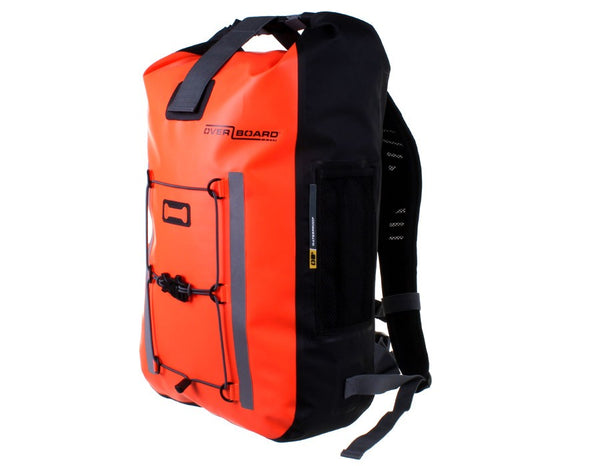 OverBoard Pro-Vis Waterproof 30L Backpack | Orange