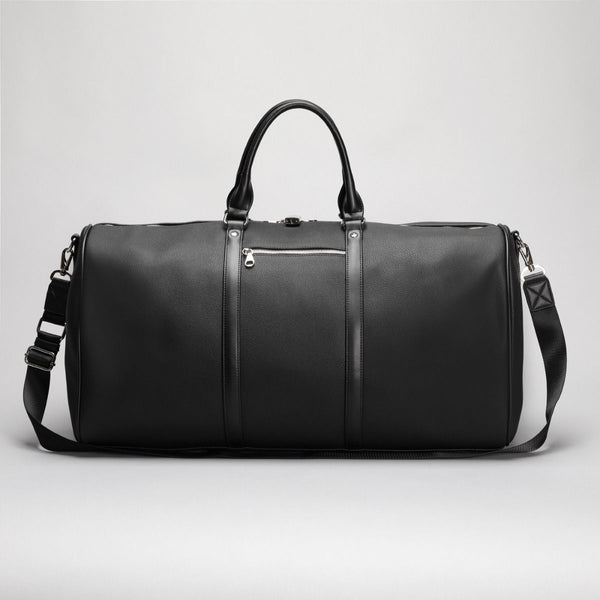 Polo Lyon Medium Travel Duffel Bag(50cm) | Black - KaryKase