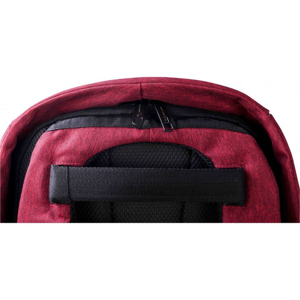 Pierre Cardin Phantom Anti-theft Laptop Backpack | Red - KaryKase
