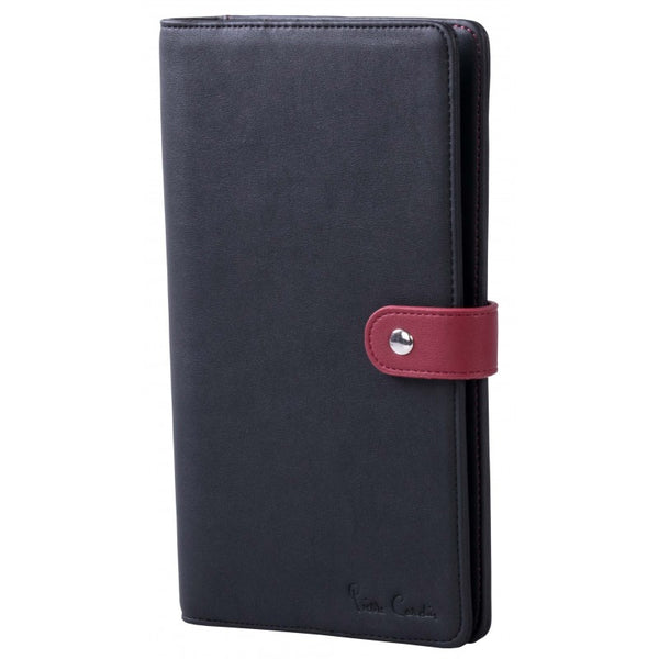Pierre Cardin Practical Travel Wallet | Black - KaryKase