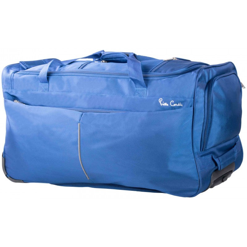 Pierre Cardin Trolley Duffel Backpack Large | Blue - KaryKase