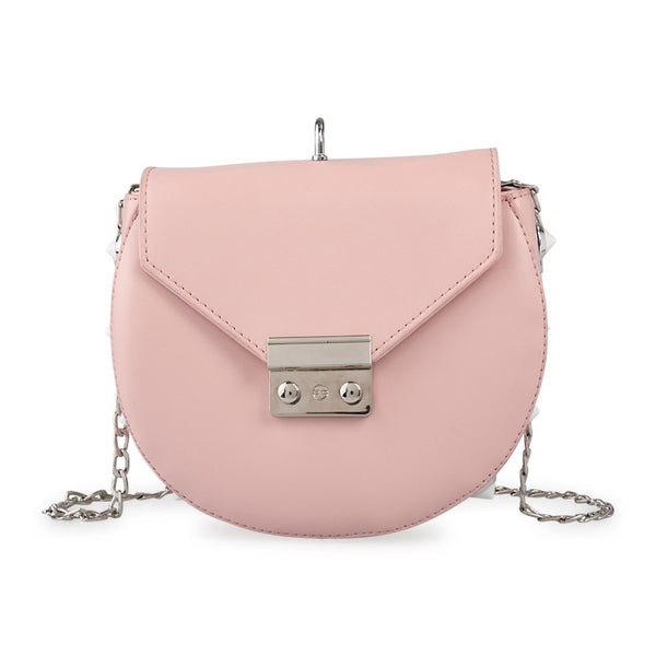 Tessa Design Stud Detail Bag | Pink