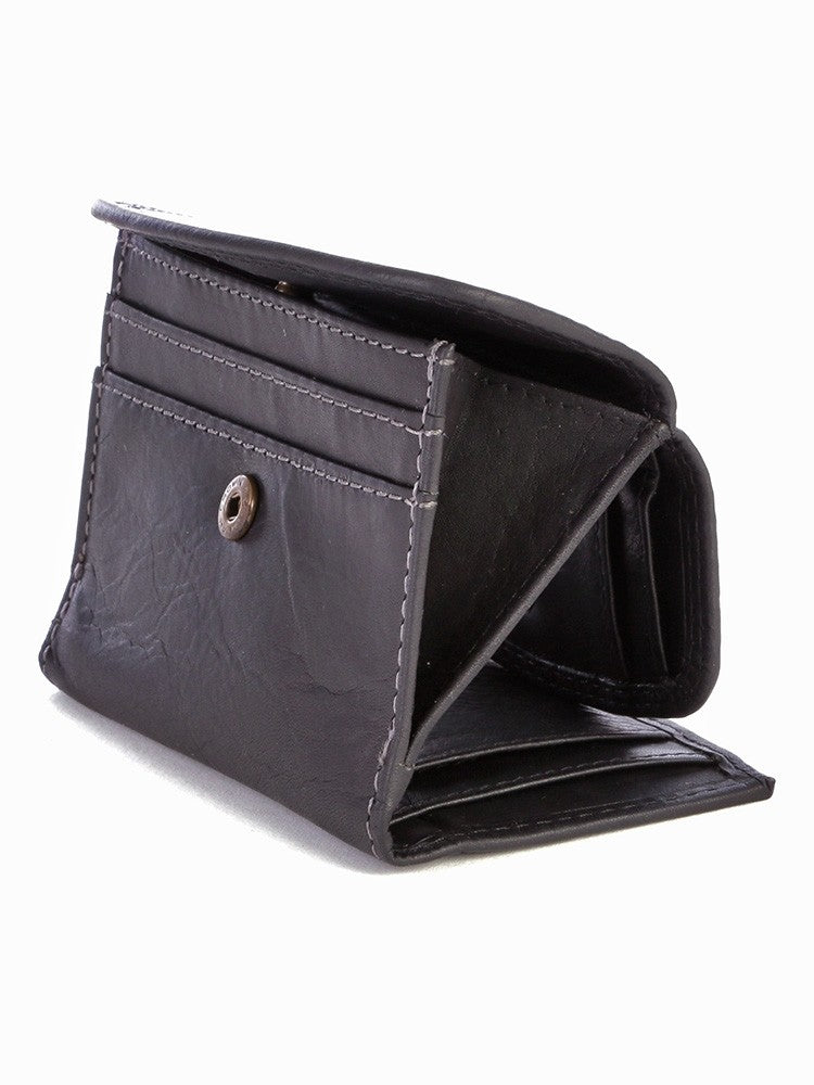 Polo Tuscany Leather Mini Billfold Wallet | Brown - KaryKase
