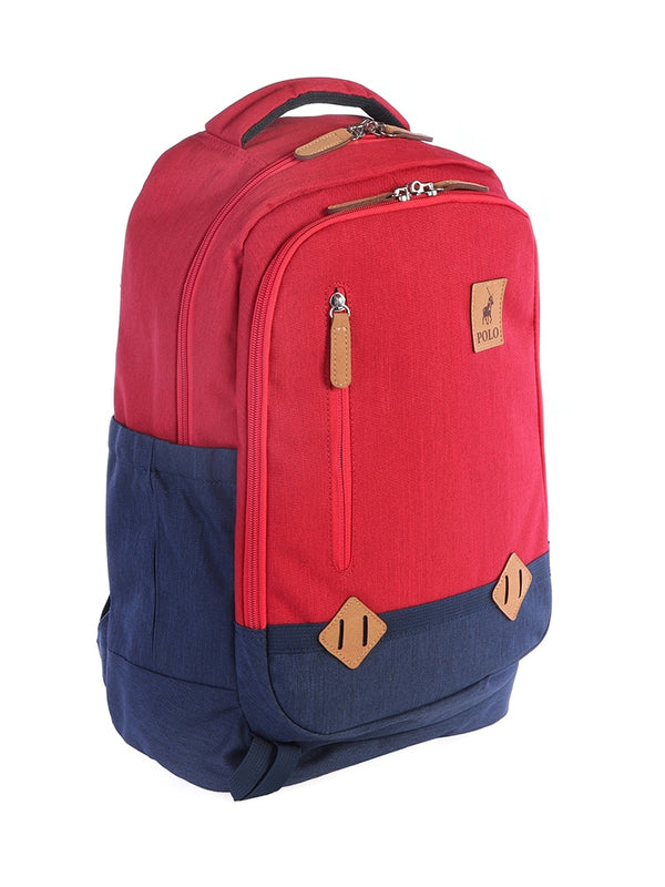 Polo Ruxton Backpack | Red - KaryKase