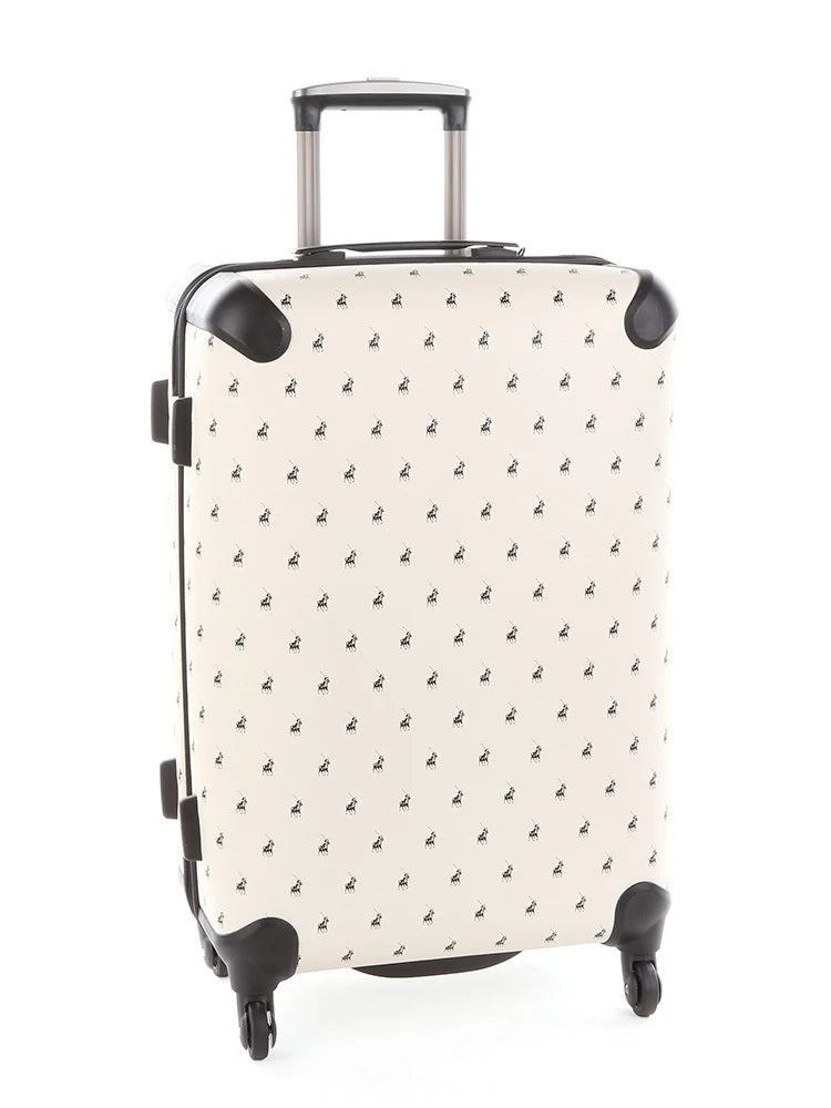 Polo Classic Double Pack 66cm Medium Trolley | Beige - KaryKase