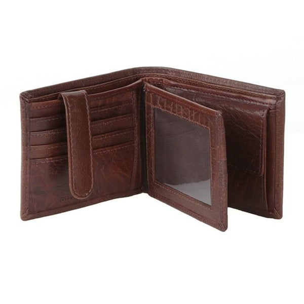 Polo Hamilton Billfold With Drivers Licence Wallet | Brown
