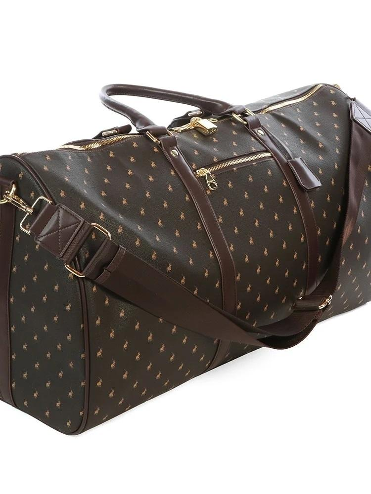 Polo Iconic Large Travel Duffel Bag(60cm) | Brown - KaryKase