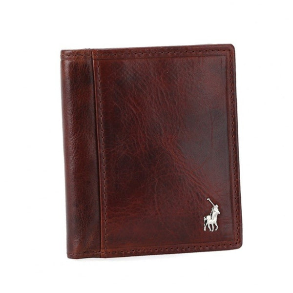 Polo Etosha Leather Credit Card Wallet | Brown - KaryKase