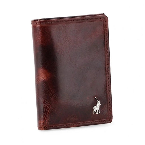 Polo Etosha Leather Trifold Wallet | Brown - KaryKase