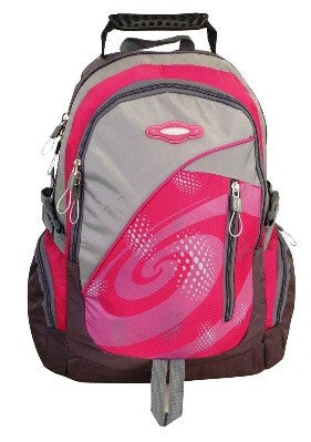 Tosca Sport Nylon Backpack | Pink - KaryKase