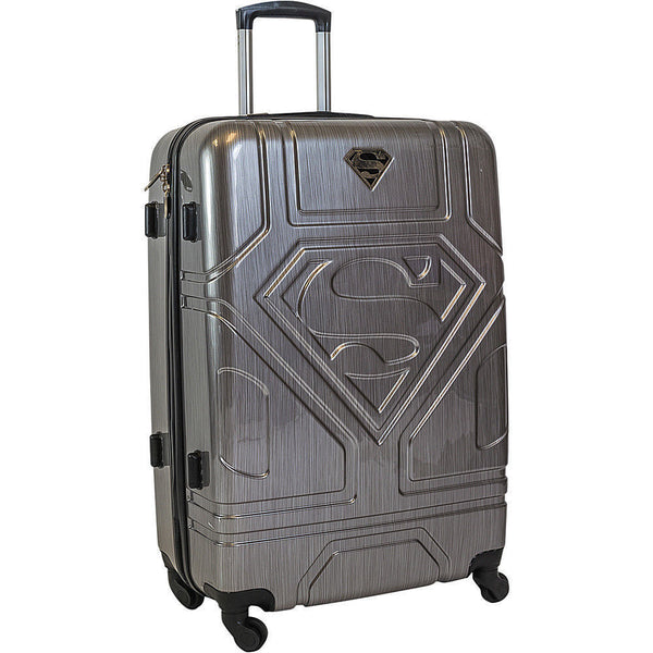 Travelwize Superman Series Large Spinner | Silver - KaryKase