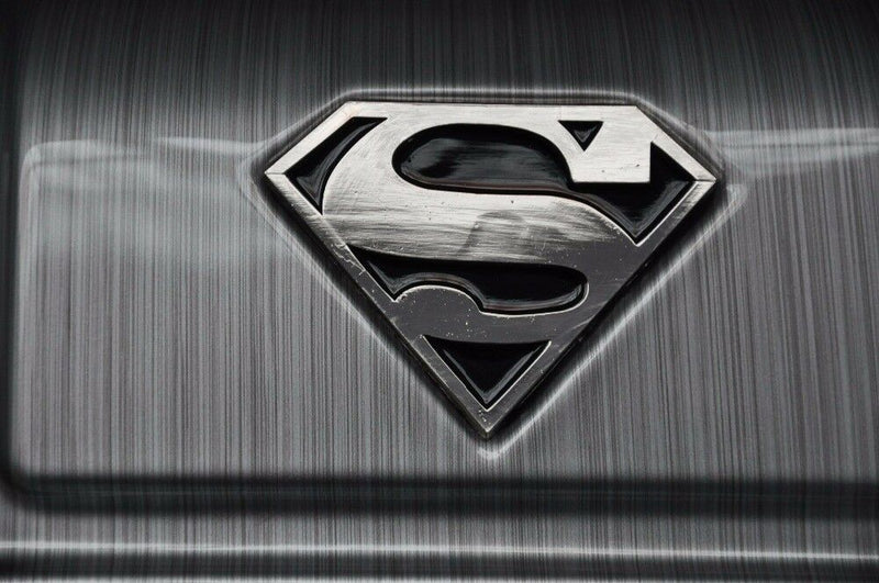 Travelwize Superman Series Cabin Spinner | Silver - KaryKase