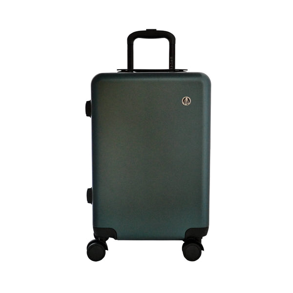 Escape Society 55cm Carry-On Suitcase With Charging Port | Forest Green