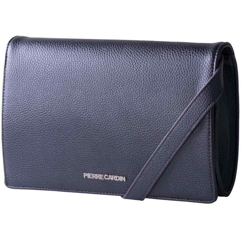 Pierre Cardin Saints Crossbody | Metallic Black - KaryKase