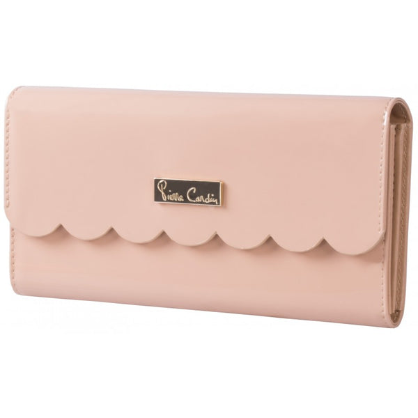 Pierre Cardin Scalloped Purse | Nude - KaryKase