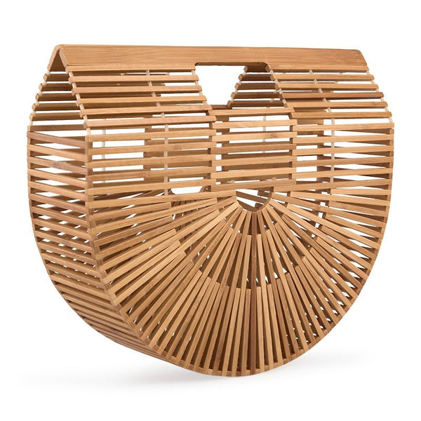 Tessa Design Semi Circle Bamboo Bag - KaryKase