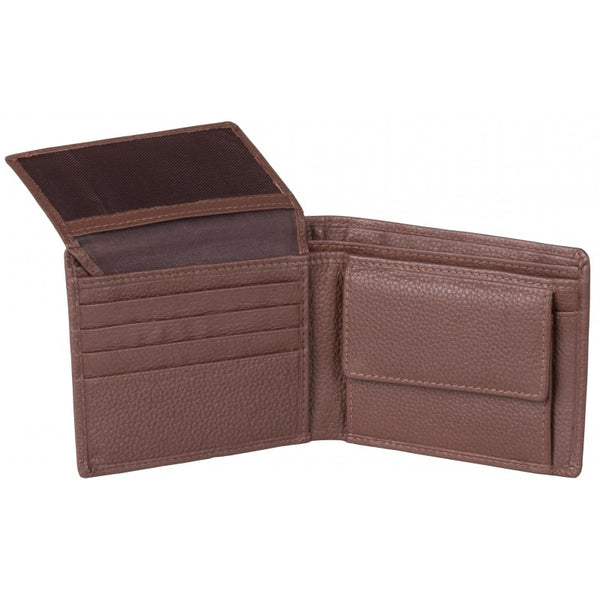 Pierre Cardin Shane Leather Wallet With Coin Pouch | Black - KaryKase