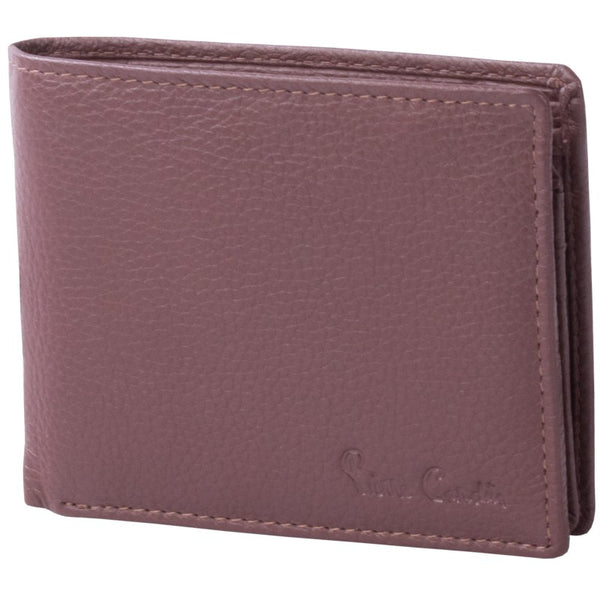 Pierre Cardin Shane Leather Wallet With Coin Pouch | Brown - KaryKase
