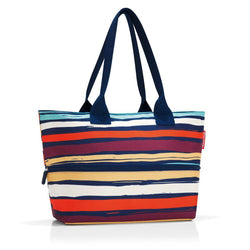 Reisenthel® Shopper e1 Expandable Handbag | Artist Stripes - KaryKase