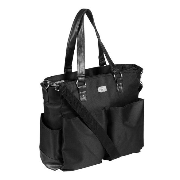 Tosca Baby Nappy Bag | Black - KaryKase
