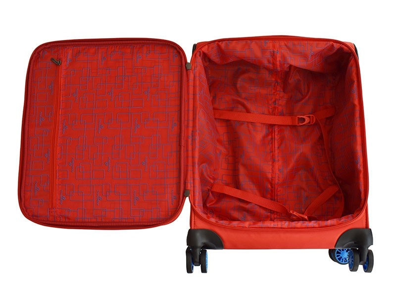 Travelite 54cm Ispot Pulse Carry On | Red - KaryKase