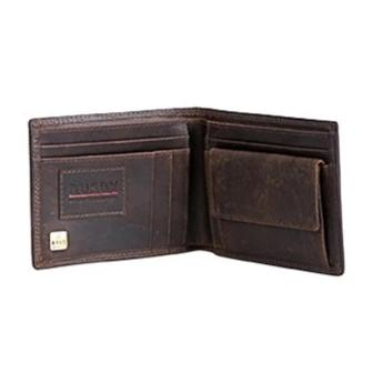 Busby Leather Ranch II Billfold With Coin Pocket | Brown