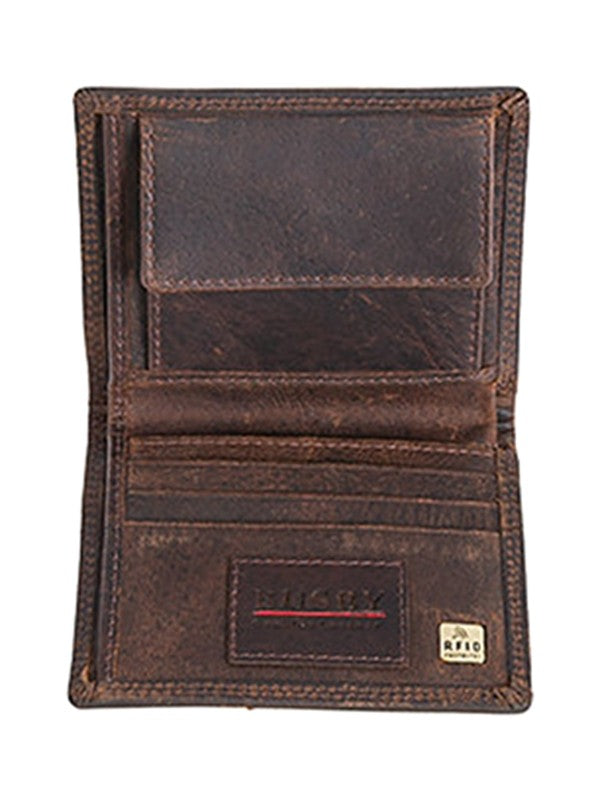Busby Leather Ranch II Small Bifold | Brown