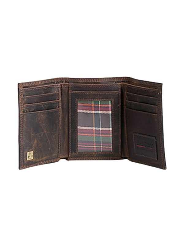 Busby Leather Ranch II Trifold Billfold | Brown