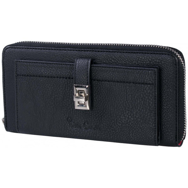 Pierre Cardin Spencer Purse | Black - KaryKase