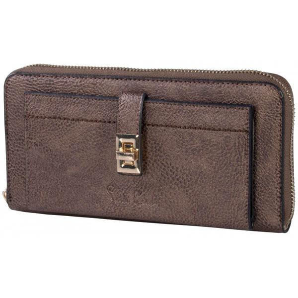 Pierre Cardin Spencer Purse | Brown Bronze - KaryKase