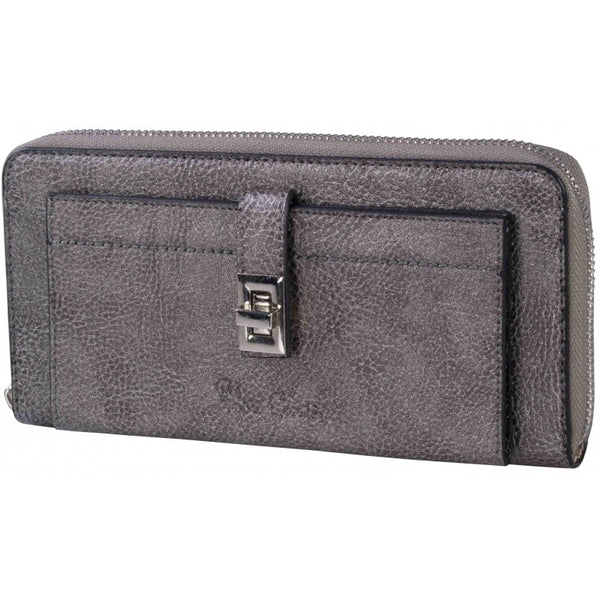 Pierre Cardin Spencer Purse | Metallic Pewter - KaryKase