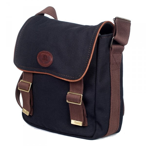 Melvill & Moon Bladsak Messenger Bag | Black - KaryKase