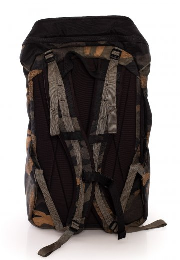The North Face Instigator 28 Backpack | Burnt Olive Green Woodland Camo Print / New Taupe Green - KaryKase