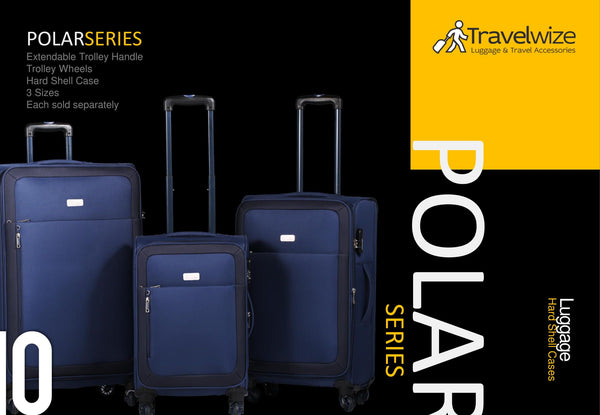 Travelwize Luggage Polar Series Spinner 3PC Set | Navy Blue - KaryKase