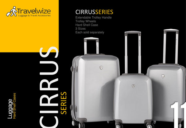 Travelwize Cirrus 3pc Spinner Set | Grey - KaryKase