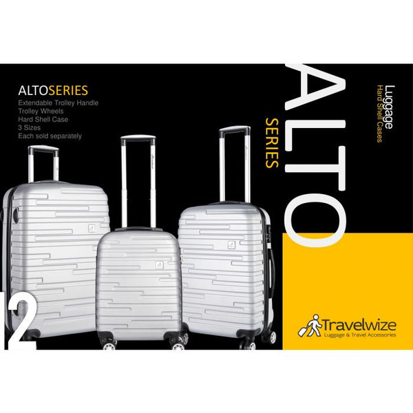 Travelwize Alto 3pc Spinner Set | Silver - KaryKase