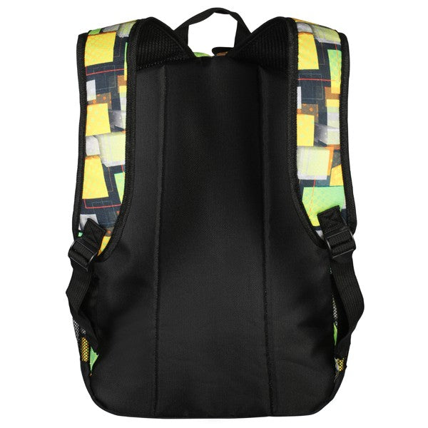 Volkano Two Squared Series Backpack | Green - KaryKase