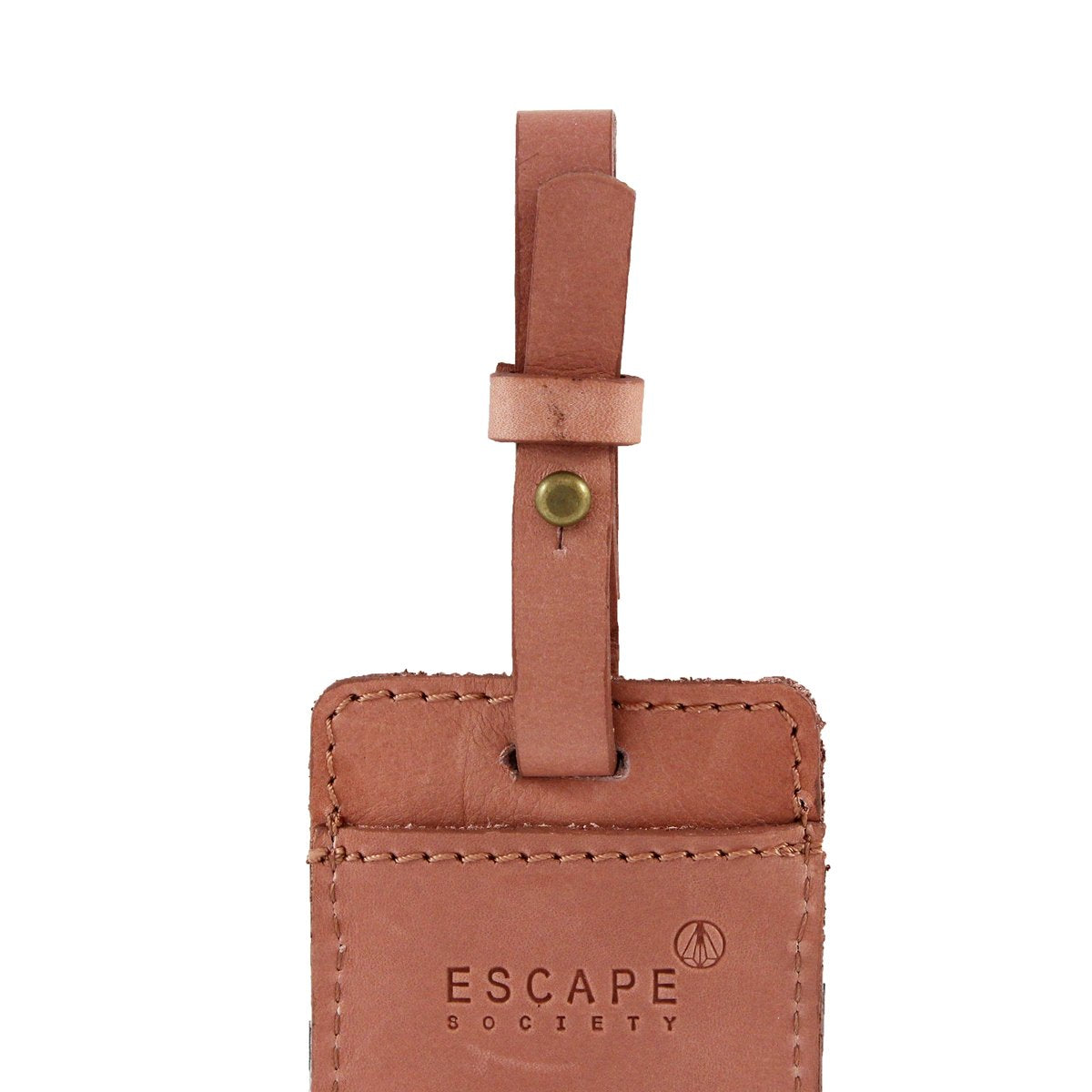 Nurse Medical Leather Luggage Tags Personalized Extra Address Cards With Adjustable Strap