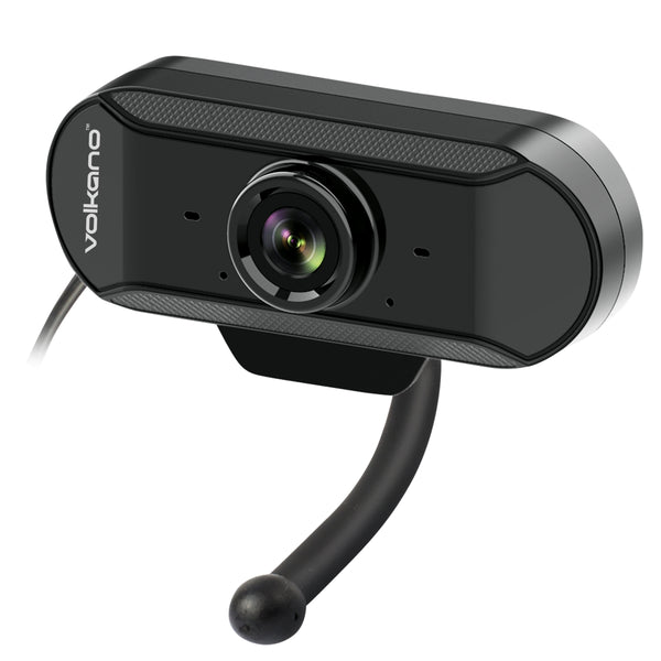 Volkano Zoom 640 Webcam With Built-In Mic & Noise Reduction - KaryKase