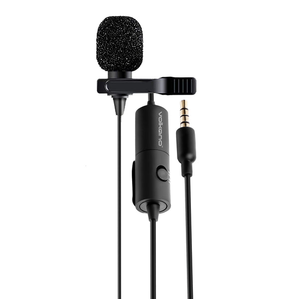 Volkano Clip Pro 3.5mm Microphone - KaryKase