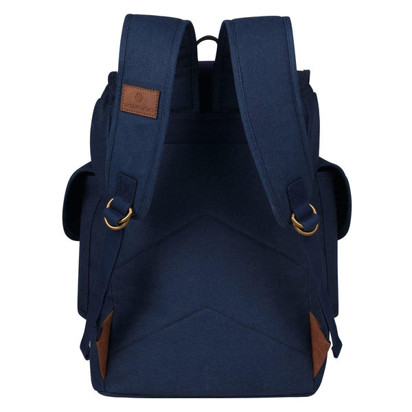 Volkano Urban Canvas Satchel | Navy - KaryKase