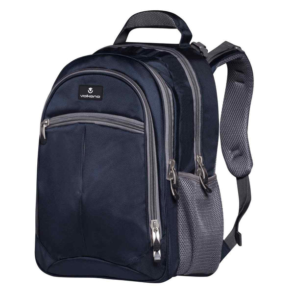 Volkano Orthopaedic Backpack 27L | Navy / Grey - KaryKase