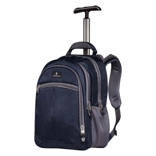 Volkano Orthopaedic Trolley Backpack 27L | Navy/ Grey - KaryKase