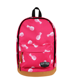 Volkano Suede Series Backpack | Pineapples (Pink) - KaryKase