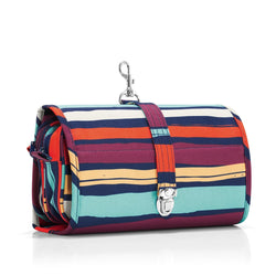 Set of 4 Striped Coin Purses Colourful Fabric From Guatemala Credit Card Holder