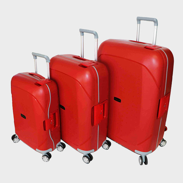 Tosca Guardian 3Pc Trolley Set | Red