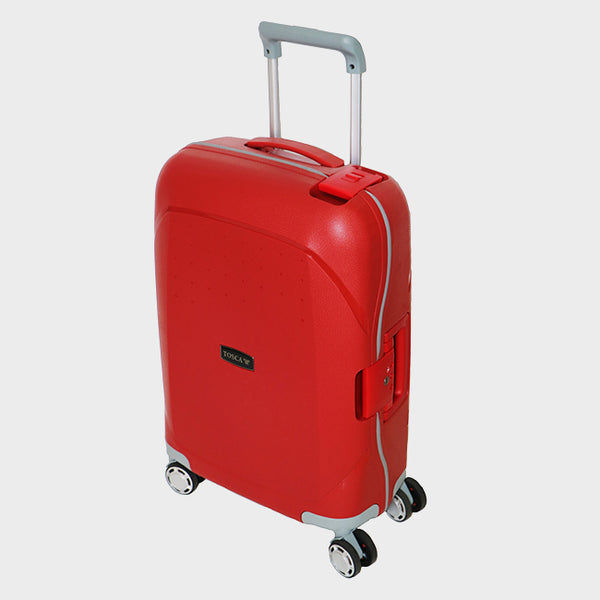 Tosca Guardian 55cm Cabin Trolley | Red - KaryKase