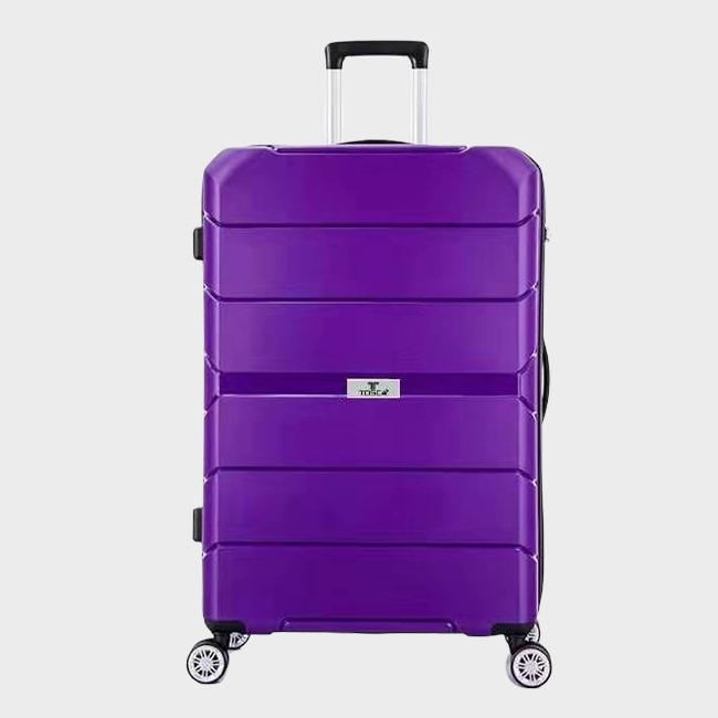 Tosca Rogue 75cm Large Trolley | Purple - KaryKase