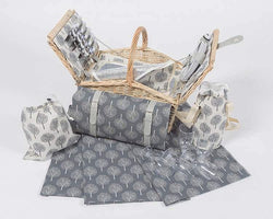 Yuppie Gift Baskets Fairytale Picnic Basket Set (5 Persons) - KaryKase